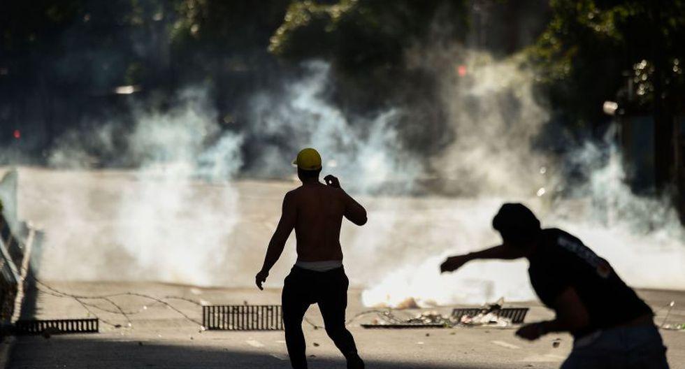 Diversas protestas contra Maduro se registraron en todo el país. (Foto: AFP)