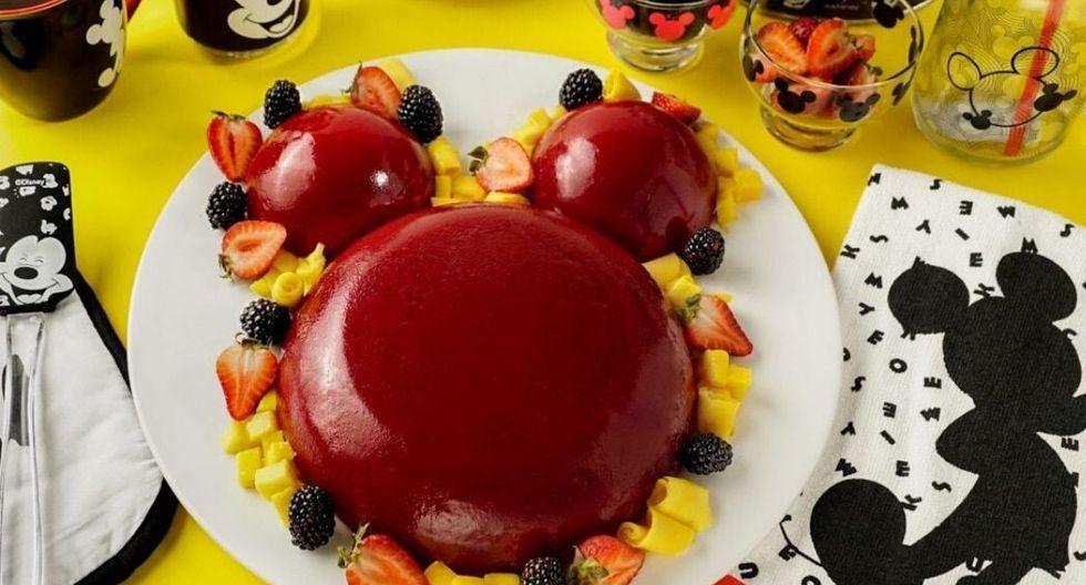 Gelatina sorpresa de Mickey Mouse. (Foto: Kiwilimón)