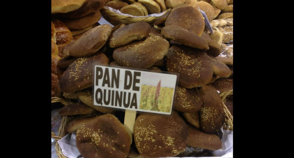 1. Pan de Quinua: Biocultivos Wasi Panqui ofrece una deliciosa media docena de panes de quinua por cinco soles. Imperdibles. (Foto: Stephanie Stanbury)
