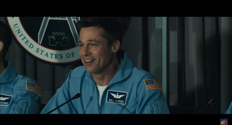 """""""Ad Astra"""": lanzan primer tráiler protagonizado por Brad Pitt (Foto: Captura de pantalla)"""
