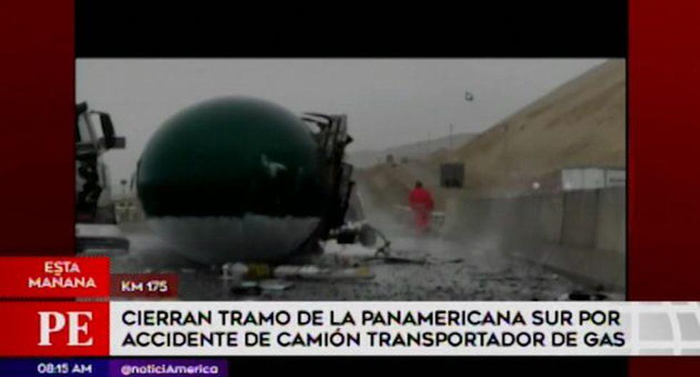 De acuerdo a la página de los Bomberos, este accidente ocurrió a las 4:24 a.m. (Foto: Captura América Televisión)