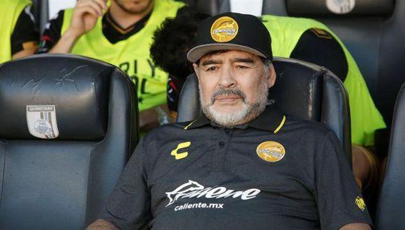 Diego Maradona explotó contra el trabajo realizado por la selección argentina. (Foto: EFE)