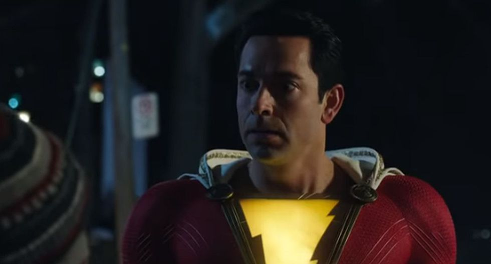 """""""Shazam!""""estrena nuevo y divertido tráiler donde revela todos sus poderes. (Foto: captura de video)"""
