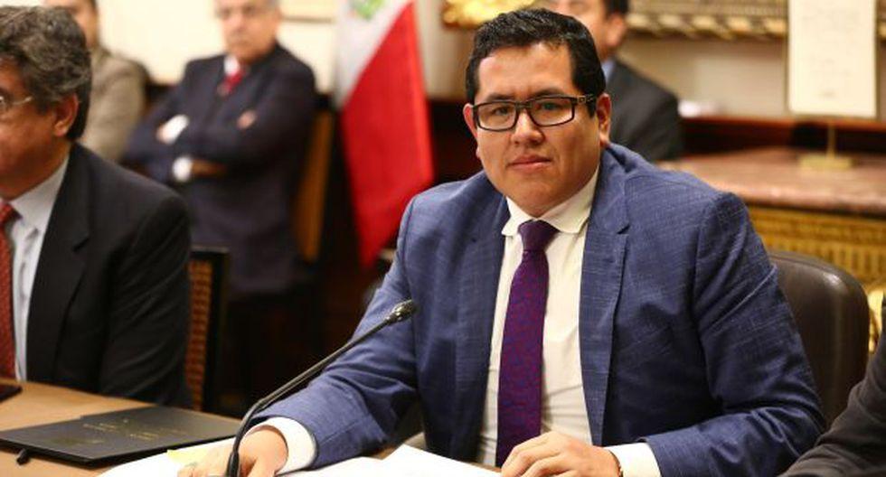 Carlos Domínguez, de Fuerza Popular. (Foto: Congreso de la República)