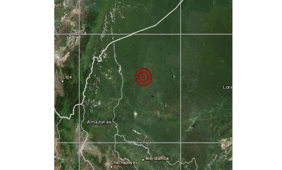 El sismo ocurrió durante esta madrugada. (Foto: IGP)