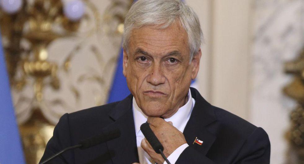 """El presidente de Chile, Sebastián Piñera, afirmó que los responsables """"van a pagar por sus actos"""". (Foto: EFE)"""
