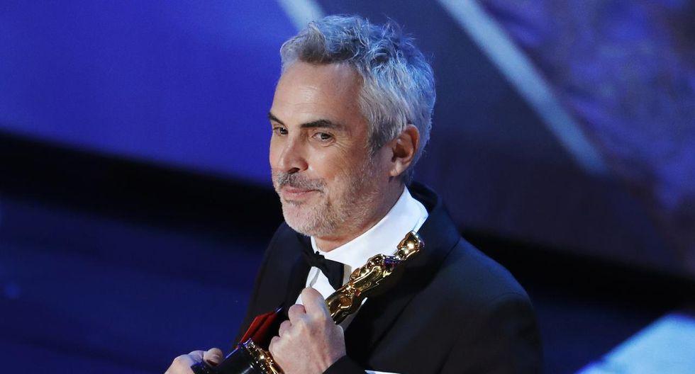 Alfonso Cuarón se llevó tres estatuillas a casa. (Foto: Reuters)