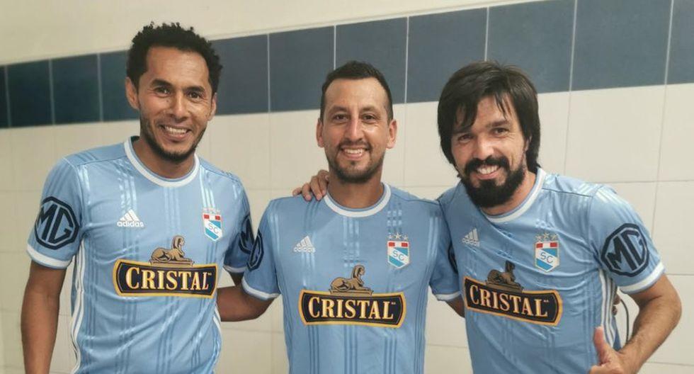 Los últimos referentes de Sporting Cristal se juntaron en una foto histórica. (Foto: Sporting Cristal)