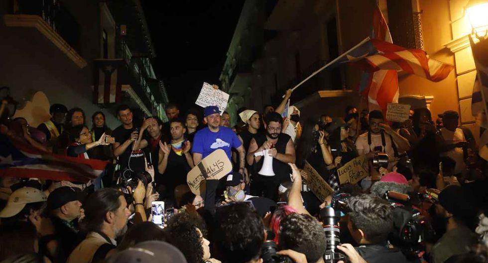 Puerto Rico está inmersa desde hace 11 días en la peor crisis política de su historia a consecuencia de la participación de Rosselló con comentarios ofensivos contra varios colectivos. (Foto: EFE)