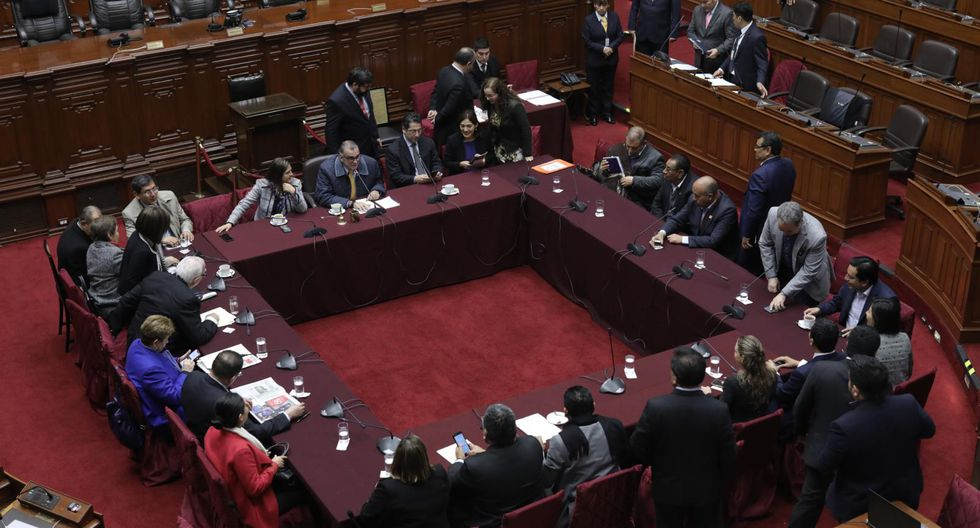 Pedro Olaechea convocó a la Comisión Permanente para este miércoles 15 de enero. (Foto: GEC)