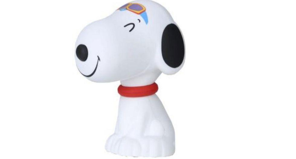 Parlantes portátiles de Snoopy, servirá como artículo de decoración y para que escuchar música.  (Foto: Cyber Plaza)