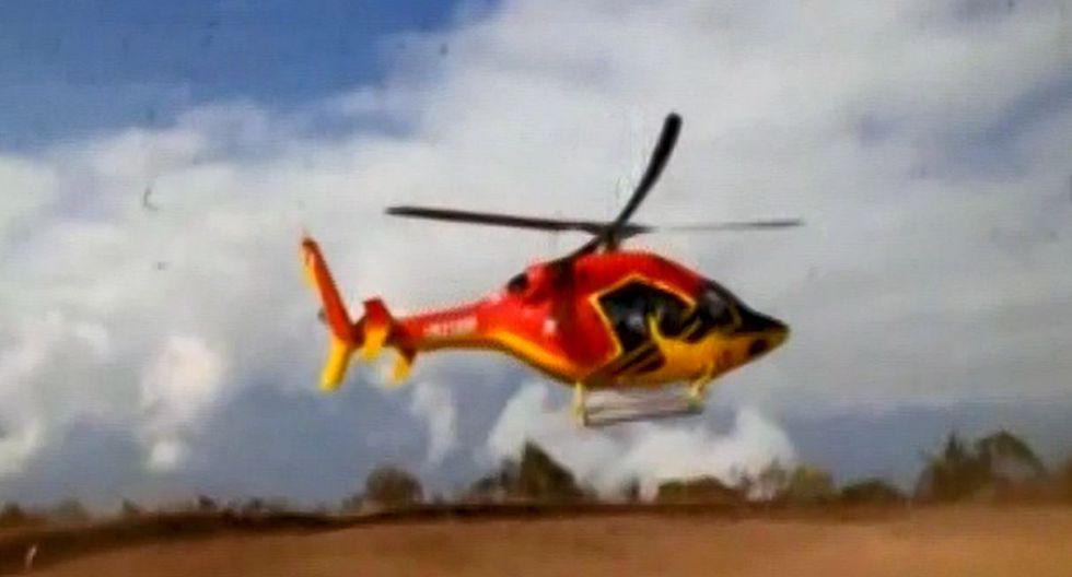 Heliamérica no es la única empresa que ofrece sobrevuelos en Cusco. (Foto: Captura/Reporte Semanal)