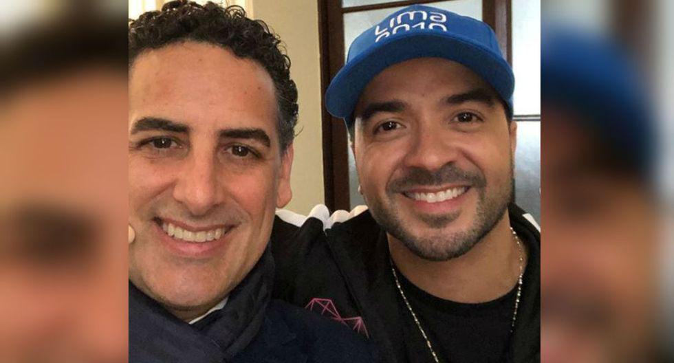 """El intérprete de """"Despacito"""" llenó de elogios al tenor peruano tras el recibimiento que le dio (Foto: @jdiego_florez)"""