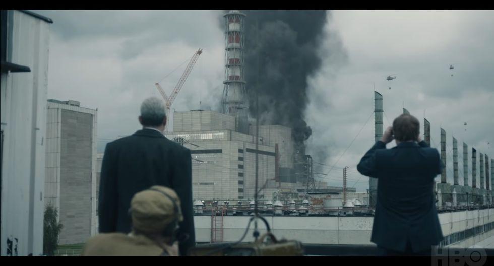 5. El desastre de Chernóbil, 25.1 millones de visitas. (HBO)