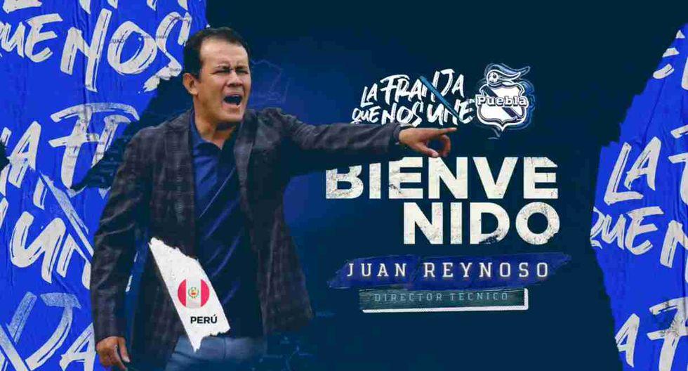 Juan Reynoso fue anunciado como entrenador de Puebla de la Liga MX. (Captura y video: Puebla CF)