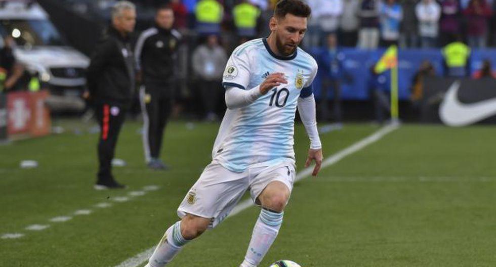 Ante Chile por la Copa América 2019 fue la última presentación de Lionel Messi con la 'Albiceleste'. (Foto: AFP)