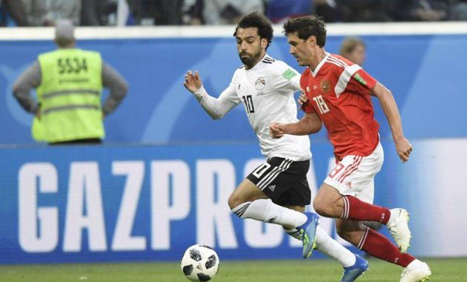 Rusia vs. Egipto se enfrentan por el Mundial Rusia 2018. (AFP)