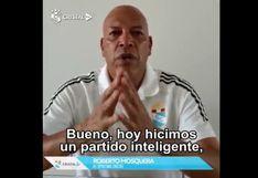 Roberto Mosquera se sumó a los mensajes para evitar propagación del coronavirus | VIDEO