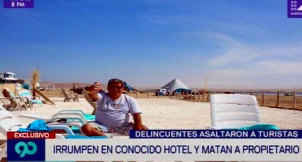 Policía investiga la muerte de Pablo Eduardo Gilardi Lecaros, quien era propietario del hotel Paracas 360. (Latina)