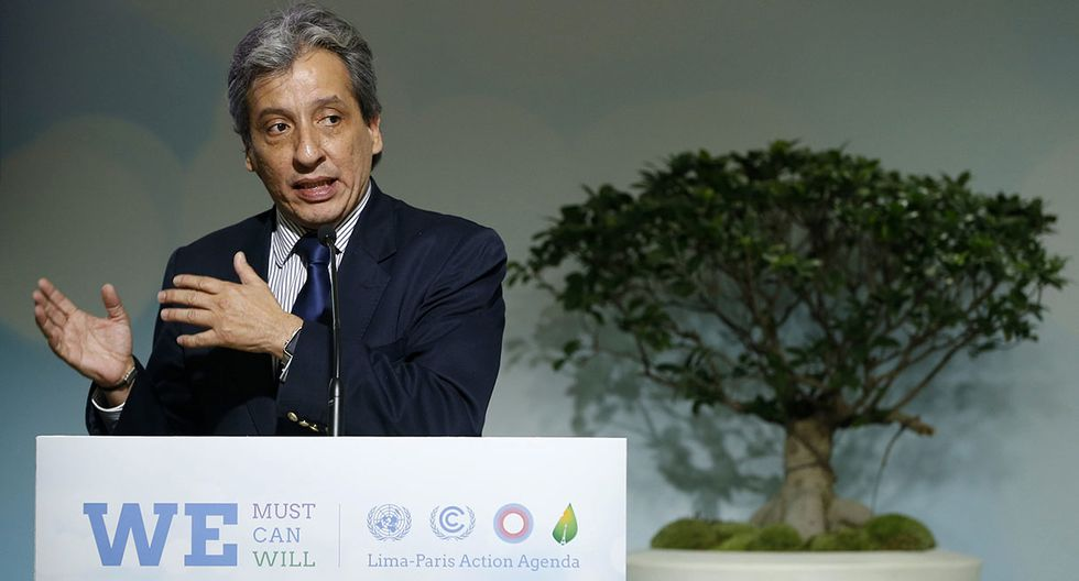 Manuel Pulgar-Vidal, fue ministro del Ambiente en Perú, de 2011 a 2016. Este abogado especializado en derecho ambiental fue reconocido por el diario El País de España. (Foto: EFE)