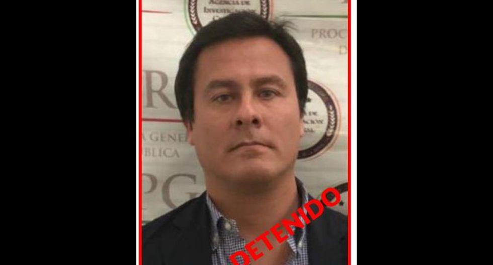 Edgar Paz Ravines fue detenido en México en noviembre del 2018. (Ministerio del Interior)