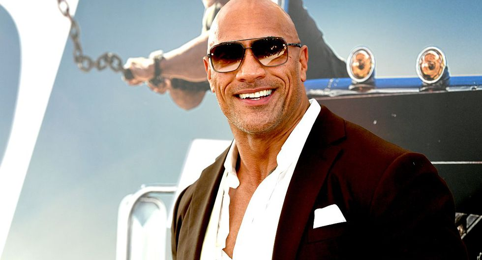 Dwayne Johnson es el actor mejor pagado de Hollywood. (Foto: AFP)