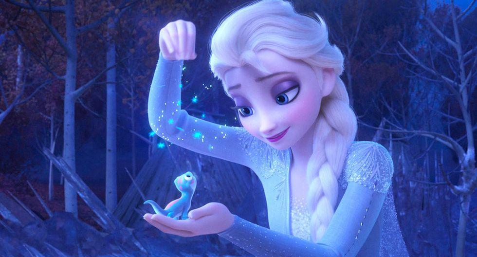 """""""Frozen"""" 2 contó con nuevos personajes y uno de ellos fue """"Bruni"""", un personaje que  por poco tuvo una película en solitario, pero fue cancelado (Foto: Disney)"""