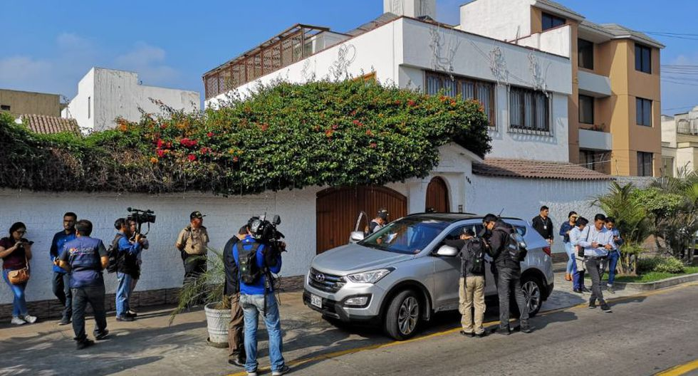 Edwin Oviedo fue detenido de manera preliminar por 10 días. (Foto: Anthony Niño De Guzmán / USI)