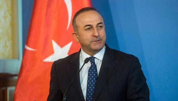 El ministro de Exteriores de Turquía, Mevlüt Çavusoglu. (Foto: EFE)