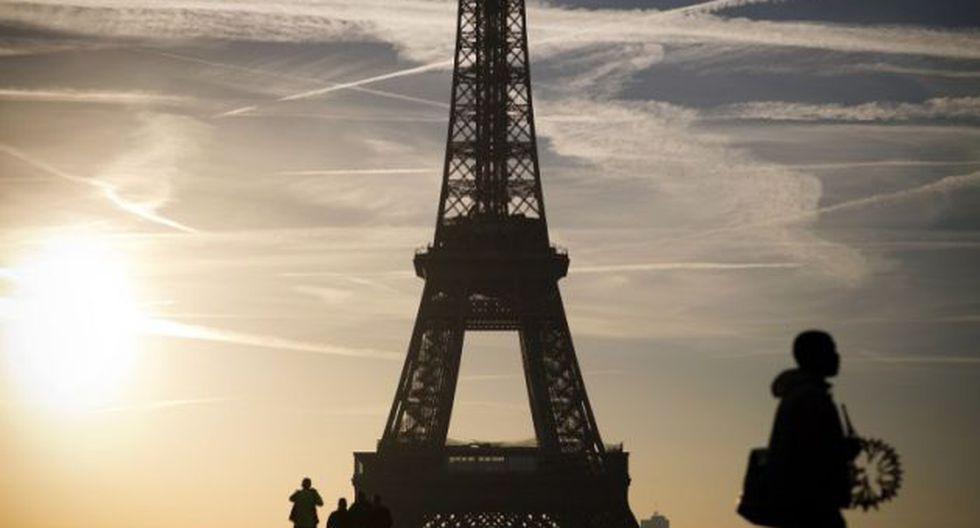 Torre Eiffel, París (Foto: AFP)