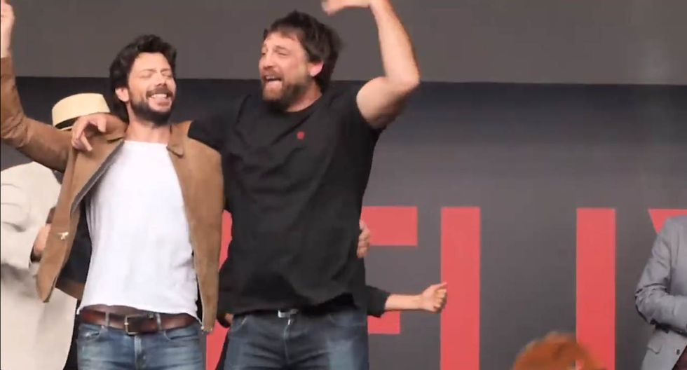Netflix espera así el estreno de La Casa de Papel.