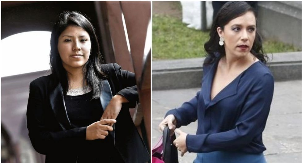 Indira Huilca y Marisa Glave (GEC)
