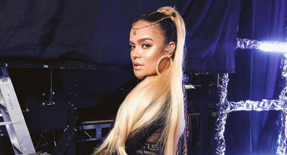 La cantante colombiana Karol G siempre derrocha sensualidad en sus publicaciones en redes sociales. (Foto: Instagram)
