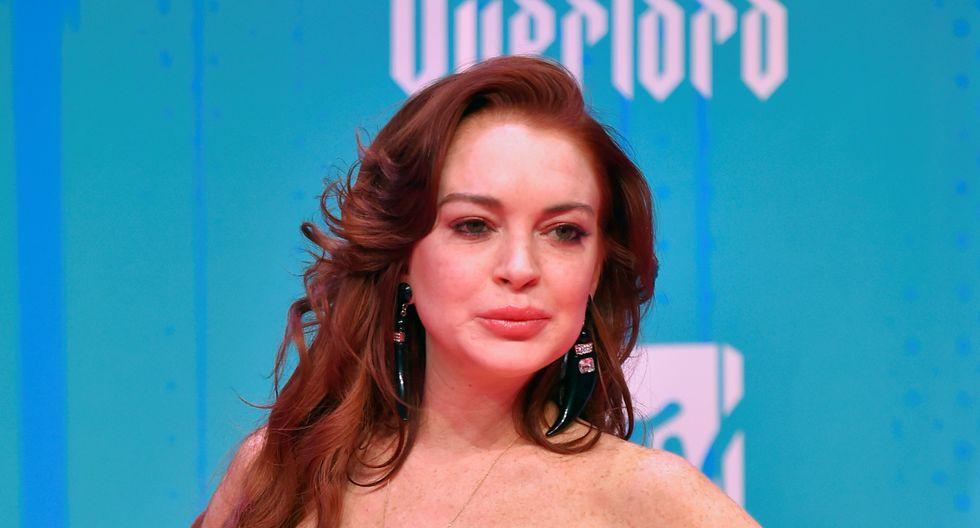 Lindsay Lohan regresa a la música con su primera canción en 12 años. (Foto: AFP)