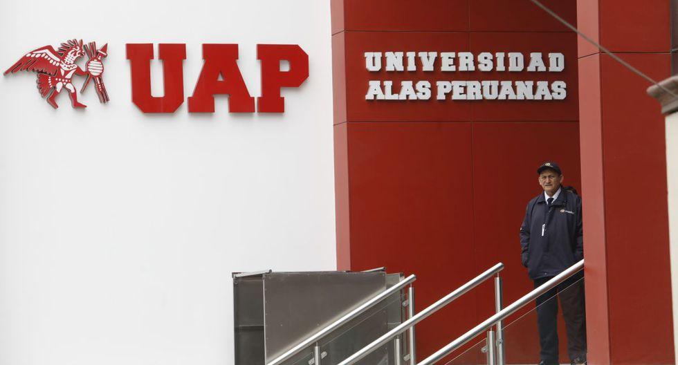 La Universidad Alas Peruanas aún no obtiene el licenciamiento que otorga Sunedu. (GEC)
