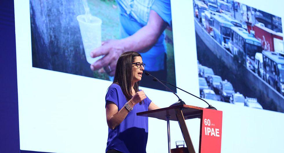 """""""Necesitamos que todos trabajemos por la reforma universitaria"""", dijo María Antonieta Alva. (Foto: IPAE)"""