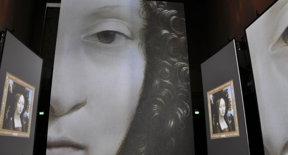 El Ministerio de Cultura se une a esta exhibición haciendo un paralelismo histórico con las principales edificaciones y elementos usados por los Incas durante la época de Leonardo Da Vinci.(Foto: Difusión)