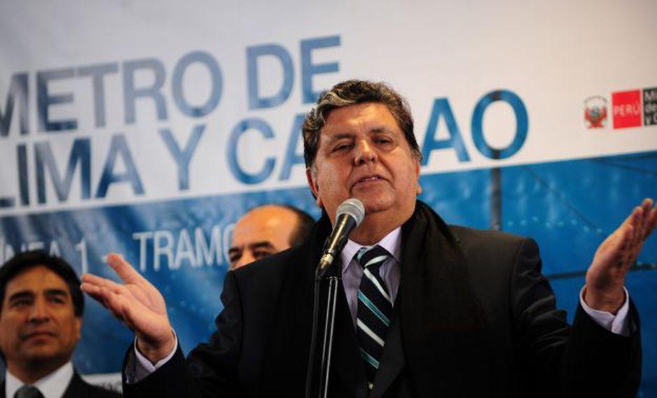 Alan García agradece al Congreso por aprobar informes de la megacomisión