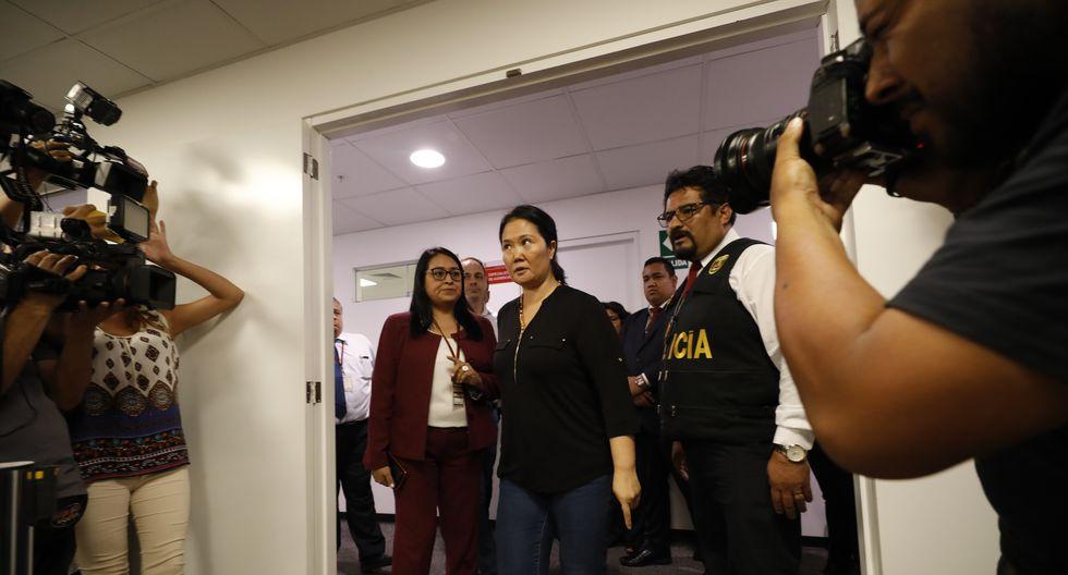 Lideresa de Fuerza Popular, Keiko Fujimori, es investigada por los supuestos delitos de lavado de activos y organización criminal (Foto: GEC).