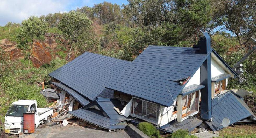 Terremoto en Japón generó pánico en la población y provocó graves daños en la localidad de Hokkaido. | Foto: EFE