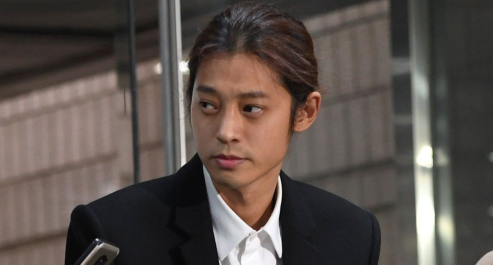 Jung Joon-young fue arrestado por difundir videos sexuales. (Foto: AFP)