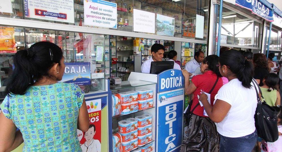 Minsa informó que se va a crear una lista de 40 medicamentos para enfermedades más comunes que deben estar disponibles en farmacias y boticas. (Foto: Andina)