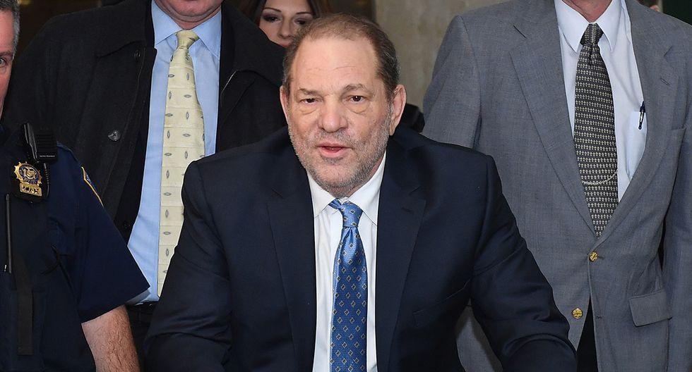 Harvey Weinstein fue hallado culpable por violación, pero evitó dos cargos más graves que le salvaron de afrontar penas como la cadena perpetua. (Foto: AFP)