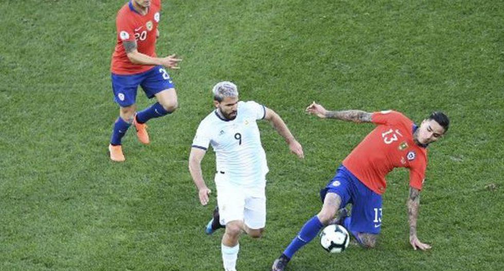 Argentina venció 2-1 a Chile por el tercer puesto de la Copa América Brasil 2019. (AFP)