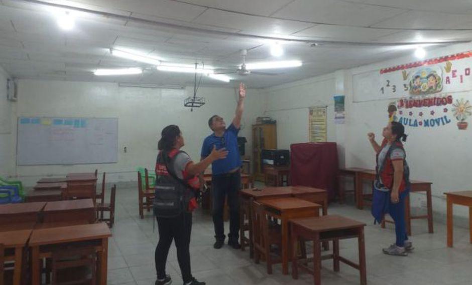 Clases se mantienen suspendidas en cinco colegios de dos regiones tras sismo en Loreto