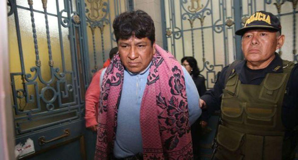 Marco Antonio Luza Segundo, violador de empadronadora, fue trasladado al penal de Lurigancho (Foto: Andina)