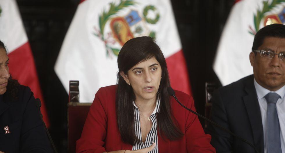 """""""Ya el próximo año, a partir de la fórmula se verá la viabilidad de proponer un incremento"""", refirió María Antonieta Alva. (Foto: GEC)"""