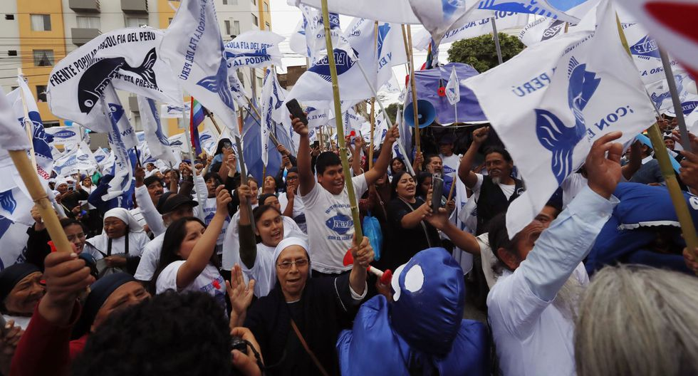 Frepap alcanzó varios votos a nivel nacional. (Foto: Andina)