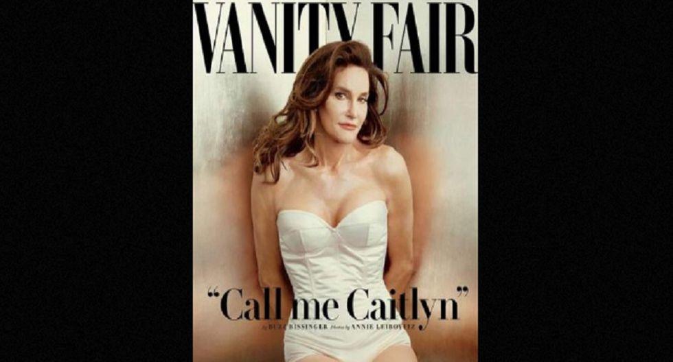 Así posó para la portada de Vanity Fair. (Foto: Difusión)