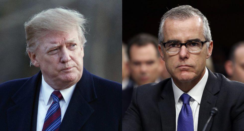 """McCabe fue entrevistado antes del lanzamiento la próxima semana de su libro """"The Threat"""", que relata sus encuentros con Trump y partes de su carrera en el FBI. (Foto: AP)"""